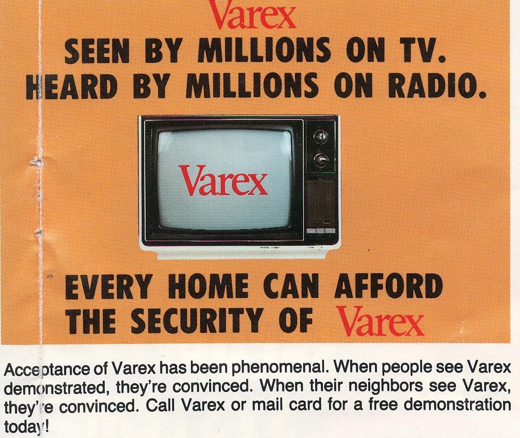 Varex TV Ads